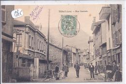TENAY- RUE CENTRALE- LES COMMERCES - France