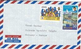 Brunei - Letter Sent To Germany. H-1518 - Brunei (1984-...)