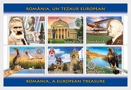 Roemenië / Romania - Postfris / MNH - Sheet Toerisme Roemenië 2019 - 1948-.... Republieken