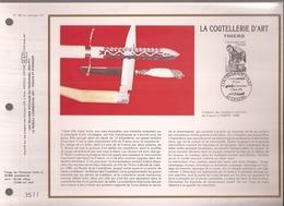Francia, Obliterations,1987, Thiers, La Coutellerie D'art - Preobliterados