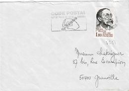 TP N° 2251 Seul  Sur Enveloppe De Nice - Marcophilie (Lettres)