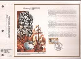 Francia, Obliterations,1988, Abraham Duquesne - Preobliterados