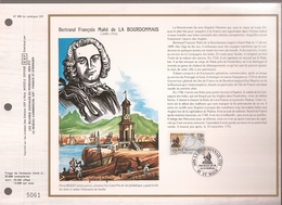 Francia, Obliterations,1988, Bertrand François Mahe De La Bourdonnais - Preobliterados