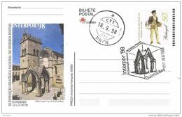 32021. Bilhete Postal INTERPOR 98. Enteros Postales Guimaraes (Portugal) - Enteros Postales