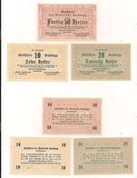 3 Notgeldscheine Randegg 10, 20 + 50 H - Autriche