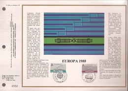 Francia, Obliterations,1988, Europa - Preobliterados