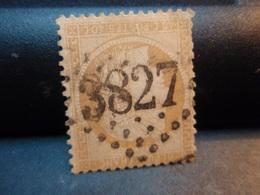 TIMBRE TYPE CERES 40C ORANGE, TIMBRE OBLITERE 1870 Numéroté  Couleur Claire - 1870 Siege Of Paris