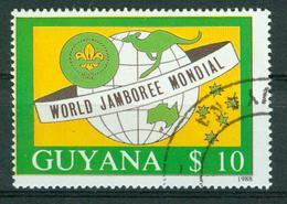 BM Guyana 1989 | MiNr 2490 | Used | Welt Pfadfindertreffen, Australien - Guyane (1966-...)