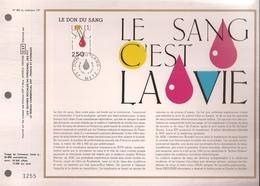 Francia, Obliterations,1988, La Don De Sang - Preobliterados