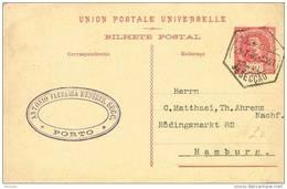 32022. Entero Postal PORTO (Portugal) 1909,  20 Reis U.P.U. - Postal Stationery