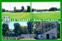 CARTE DE STADE DE. LE TOUQUET  *62* FRANCE STADE FREDI PETIT  # DGC. 89 - Fussball