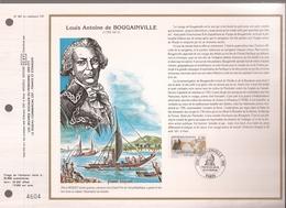 Francia, Obliterations,1988, Louis Antoine De Bougainville - Preobliterados