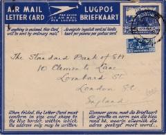 AFRIQUE DU SUD  :  Carte Lettre Avec Complément Pour Londres - South Africa (...-1961)