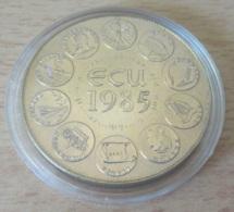 France - Monnaie / Médaille - Ecu 1985 - FDC Sous Capsule - Professionnels / De Société