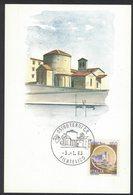 YN386  Italia,Italy 1983 - Terni Chiesa Di San Salvatore, Eglise, Churc - Postcard With Special Postmark - Kerken En Kathedralen