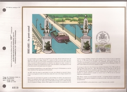Francia, Obliterations,1990, Briare; Le Pont-canal - Preobliterados