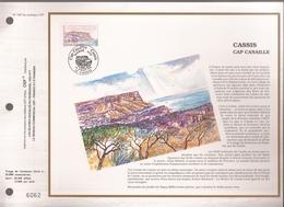Francia, Obliterations,1990, Cassis Cap Canaille - Preobliterados