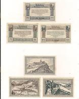3 Notgeldscheine Rauris 10, 20 + 50 H - Autriche