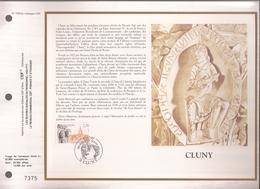 Francia, Obliterations,1990, Cluny - Preobliterados
