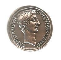 Les Monnaies Romaines,Trésor Du Patrimoine , Reproduction,  CAESAR.COS. VII , Frais Fr 2.55e - Romaines