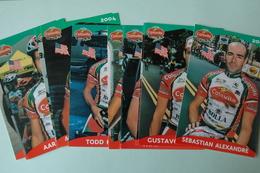 CYCLISME: EQUIPE COLAVITA 2004 12 CP - Cyclisme