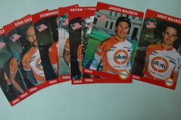 CYCLISME: EQUIPE OFOTO 2004 10 CP - Cyclisme