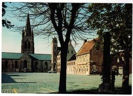 Lo, Grote Markt En Kerk St Pieter (pk55694) - Lo-Reninge