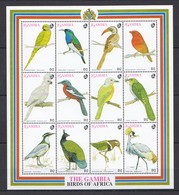 L928 GAMBIA FAUNA BIRDS OF AFRICA 1SH MNH - Birds