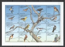 L930 GEORGIA FAUNA BIRDS 1SH MNH - Birds