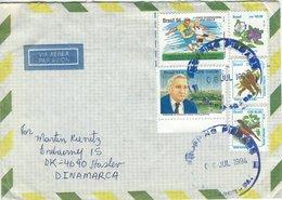Brazil - Brasil-  Cover Sent To Denmark 1994.  H-1559 - Brésil