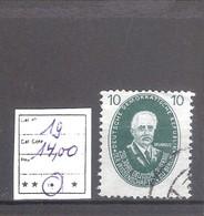Allemagne RDA : N° 19 Cote Yvert & Tellier :14,00 € - Used Stamps