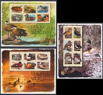 L933 2000 GRENADA FAUNA BIRDS DUCKS OF THE WORLD 3KB MNH - Ducks
