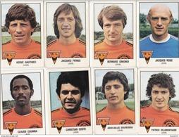 PANINI FOOTBALL 1979 LOT DE 8 IMAGES LAVAL - Panini