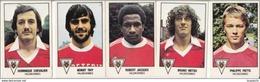 PANINI FOOTBALL 1979 LOT DE 5 IMAGES VALENCIENNES - Panini