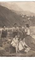 RUSSIA. #1105 A PHOTO. SWIMWEAR. GIRLS AND YOUNG MEN. ALUPKA-SARAH 1927 - Proyectores De Cine