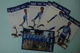 CYCLISME: EQUIPE PALMANS SAPIM COLLSTROP 2006 COMPLETE - Cyclisme
