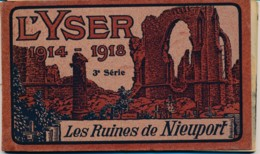 Nieuwpoort - 10 PK In Boekje - Les Ruines De Nieuport 1914/1918 3e Série - éditeur Henri Georges Bruxelles - Nieuwpoort