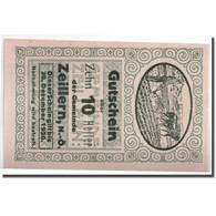Billet, Autriche, Zeillern, 10 Heller, Agriculteur, SPL, Mehl:1263a - Autriche