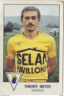 PANINI FOOTBALL 1979 THIERRY MEYER SOCHAUX - Panini