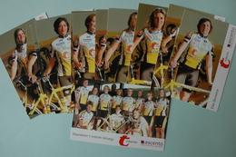 CYCLISME: EQUIPE VLAANDEREN FEMININE 2004 COMPLETE - Cyclisme