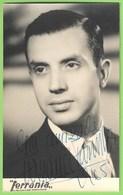 Barreiro - Fadista Fernando Farinha (Autografado) - Música - Fado - Actor - Teatro - Cinema - Artista - Music And Musicians