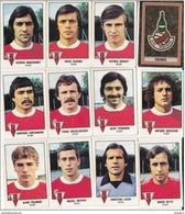 PANINI FOOTBALL 1979 LOT DE 12 IMAGES REIMS - Panini
