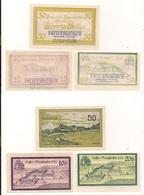 3 Notgeldscheine Ranshofen 10, 20 + 50 H - Autriche