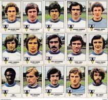 PANINI FOOTBALL 1979 LOT DE 15 IMAGES STRASBOURG - Panini