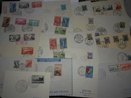 Collection , Algerie  20 Lettres Premiers Jours - Timbres