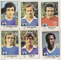 PANINI FOOTBALL 1979 LOT DE 6 IMAGES BASTIA - Panini