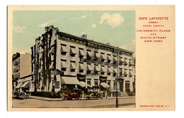 ETATS UNIS - New York, NEW YORK Café Lafayette - Cafés, Hôtels & Restaurants