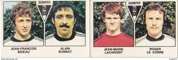 PANINI FOOTBALL 1979 LOT DE 2 IMAGES QUIMPER - Panini