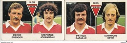 PANINI FOOTBALL 1979 LOT DE 2 IMAGES BLOIS - Panini
