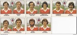 PANINI FOOTBALL 1979 LOT DE 5 IMAGES ROUEN - Panini